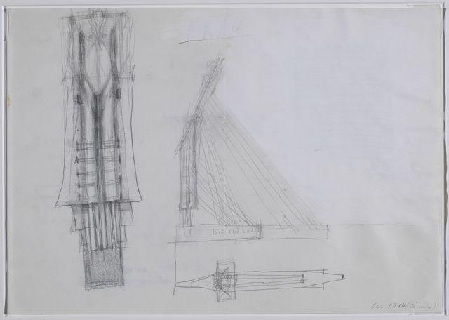 , 'Wie ein Segel,' 1995, Galerie Elisabeth & Klaus Thoman