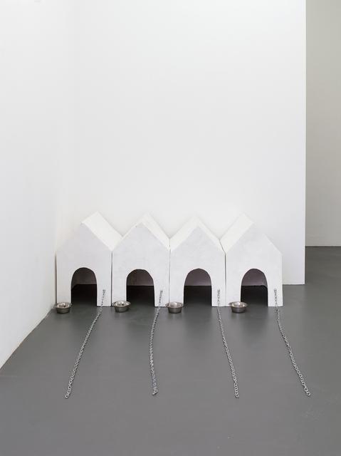 , 'Hundehütten (Dog Houses),' 1976, Kadel Willborn
