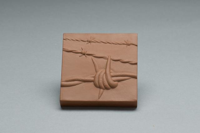 Richard Notkin, 'Barbed Wire Tile', 2006, Hieronymus