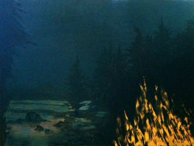 , 'Sagamore Lake at Night,' 2015, J. Cacciola Gallery