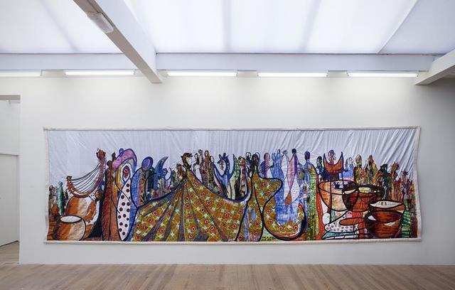 , 'Fete Africaine (The Men and the Marionettes),' 2012, Stedelijk Museum Amsterdam