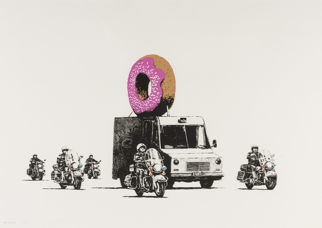 Banksy, 'Donuts (Strawberry)', 2009, Forum Auctions
