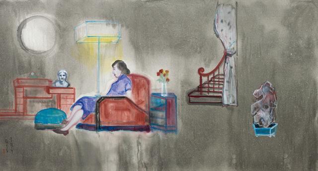, '常德公寓内的女人 Woman at Eddington House,' 2016, Matthew Liu Fine Arts