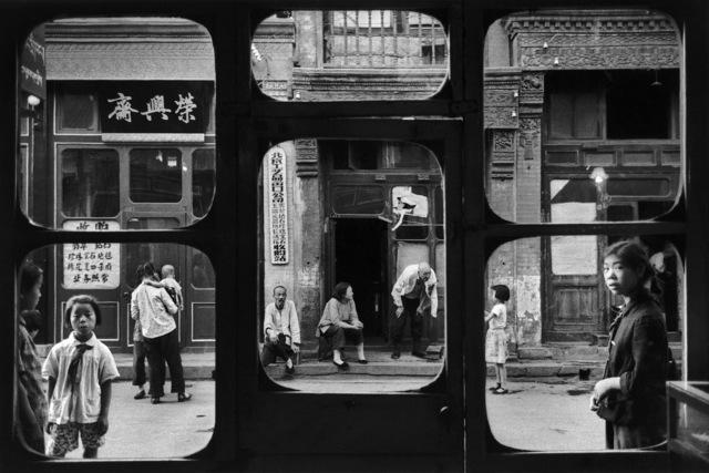 Marc Riboud, 'La fenêtre des antiquaires, Pékin, 1965 ', 1965, Photography, Silver Gelatin Print, Galerie Arcturus