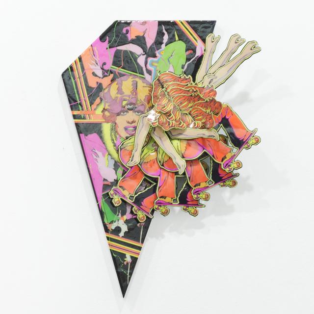 , 'Thrash Tracers,' 2017, Cris Worley Fine Arts