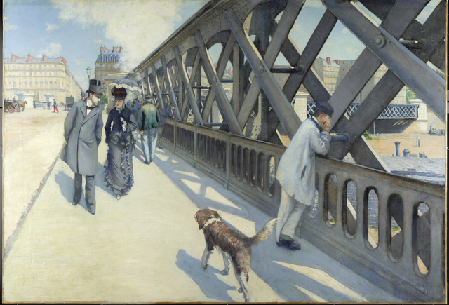 , 'Le Pont de l'Europe (The Europe Bride),' 1876, Berkeley Art Museum and Pacific Film Archive