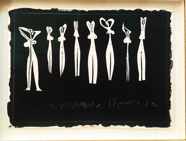 Pablo Picasso, 'Huit Silhouettes ', 13th of January 1946, Blanca Soto Arte