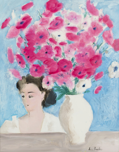 , 'Bouquet rose au Visage,' 2000, Opera Gallery