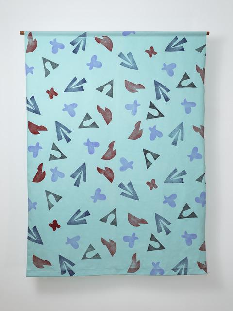 Grace Ndiritu, 'Coverslut© Cult of the Kimono (Curtain) #2', 2018, Inda Gallery