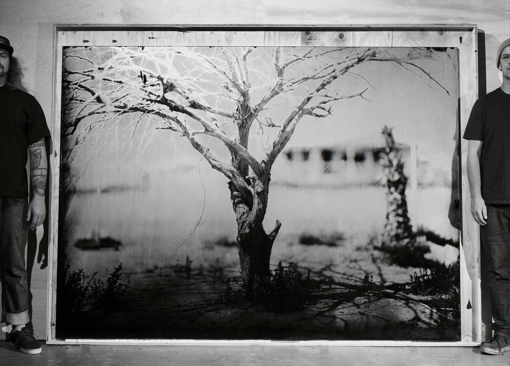 DREAM HOME | 66'' X 90'' | AMBROTYPE | BOMBAY BEACH ,CA 2017
