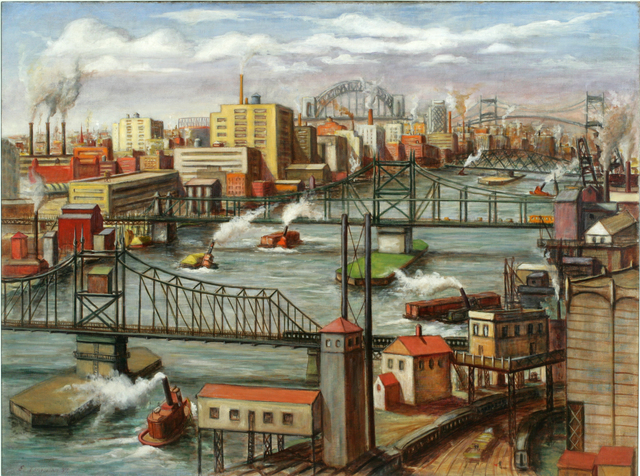 , 'Tugboats on the East River,' 1937, ACA Galleries