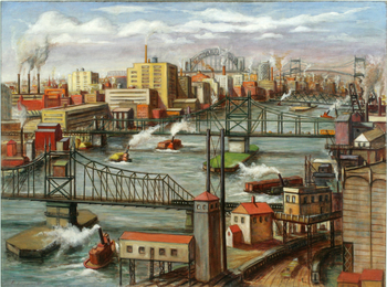 Tugboats on the East River