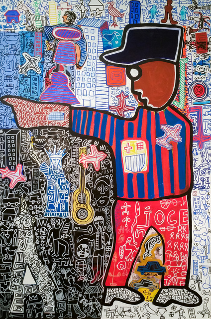 , 'Paris - New York - Barcelone,' 2016, Out of Africa Gallery