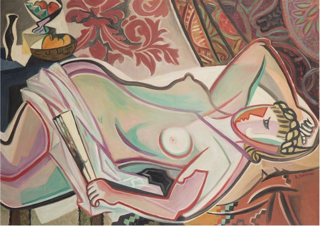 , 'Nu à l'eventail,' 1947, BAILLY GALLERY
