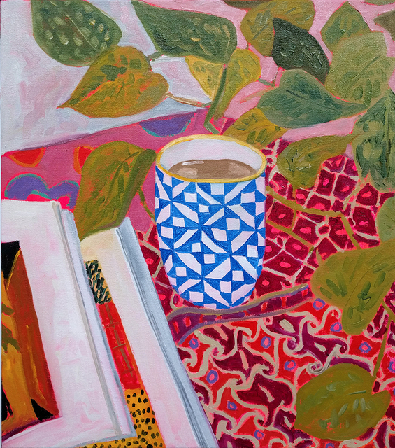 , 'Quilt Pattern on Teacup,' 2016, Hashimoto Contemporary