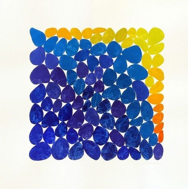 , 'Hot Day Blues,' 2019, Susan Eley Fine Art