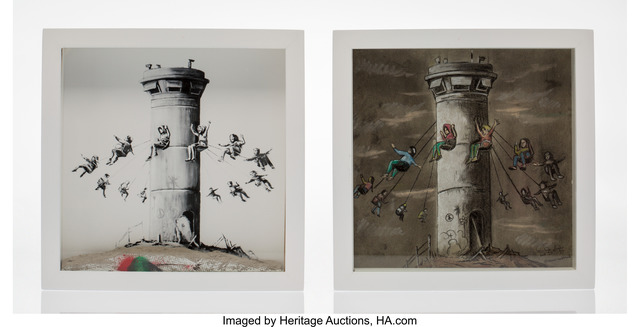 Banksy, 'Walled Off Hotel Box Set (two works)', 2017, Heritage Auctions