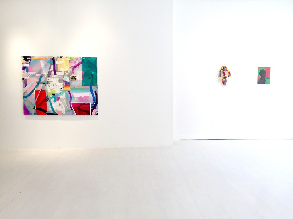 "Danny Rolph ""New Mexico"" Jill Levine ""ASI"", Chris Ofili ""Untitled"""