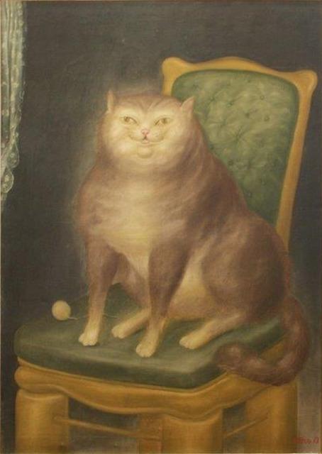 , 'The Cat,' 1969, Galería Duque Arango