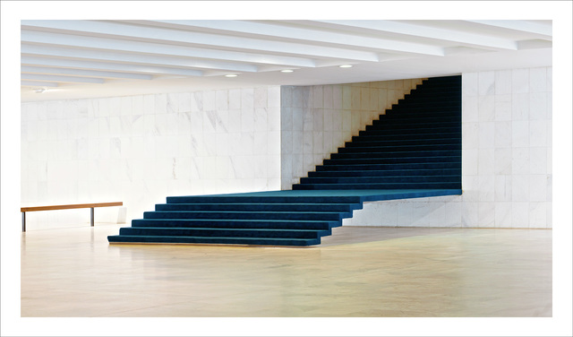 , 'Brasilia | The Itamaraty Palace - Foreign Relations Ministry, stairs,' 2012, The Ravestijn Gallery