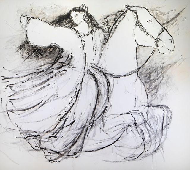 Yalda Sepahpour, 'Woman on Horse', 2019, Simard Bilodeau Contemporary