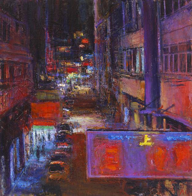 , 'Jaffe Road, Night,' 2015, John Martin Gallery