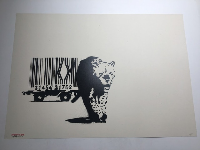 Banksy, 'Barcode (Signed)', 2003, Prescription Art