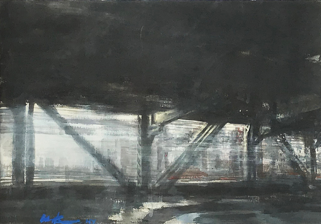 , 'On The East River I,' 2013, Eckert Fine Art