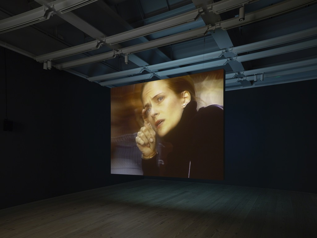 "Installation view of ""Laura Poitras: Astro Noise"" at Whitney Museum of American Art, New York (2016) Photography by Ronald Amstutz"