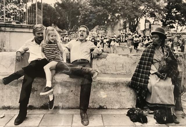 Lawrence Schiller, 'Paul Newman & Robert Redford- Newman's Daughter', 1969, Mouche Gallery