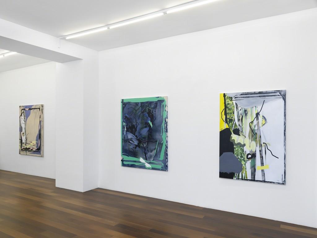 "Exhibition view, Pepa Prieto, ""Unhappy hens do not lay eggs"", Galerie Xippas, Geneva, Switzerland, 2017. ©Annik Wetter"