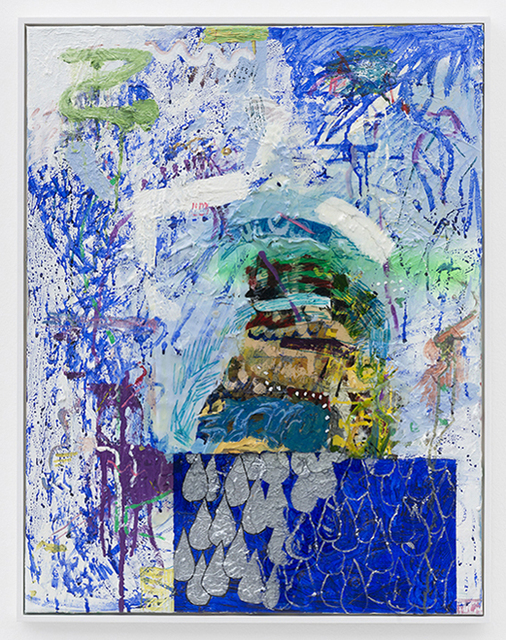 , 'Namedropping (Uppsnärjd I Det Blå),' 2014, Galerie Meyer Kainer