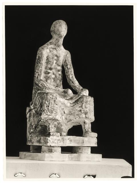 , 'Seated figure,' 1947, 21er Haus