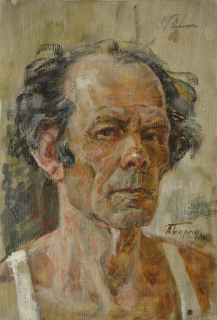 Aleksey Ivanovich Borodin, 'Self portrait', 1966, Surikov Foundation