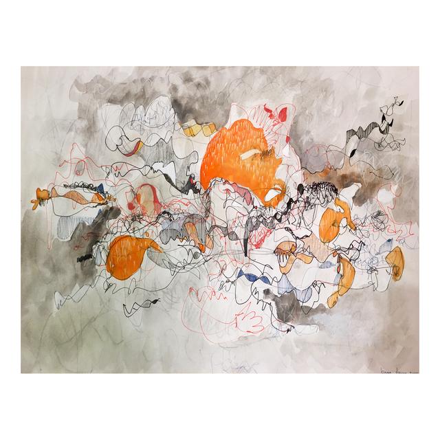 , 'Orange Tainted 01,' 2017, Jen Mauldin Gallery
