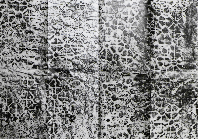 , 'Calle 9 # 04–05, Frottage de una acera en Santa Fe de Antioquia, Antioquia,' 2018, Estrany - De La Mota