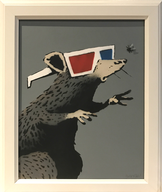 Banksy, 'Rat with 3D Glasses', 2010, Tanya Baxter Contemporary