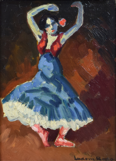 Ludovic-Rodo Pissarro, 'Danseuse Espagnole', Stern Pissarro