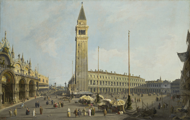 , 'The Square of Saint Mark's and the Piazzetta,' 1731, Legion of Honor