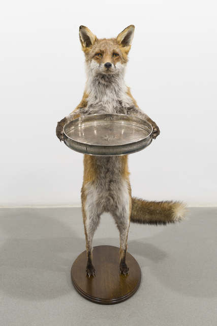 , 'The Fox, The Nut and The Banker's Hand,' 2016-2116, Sabrina Amrani