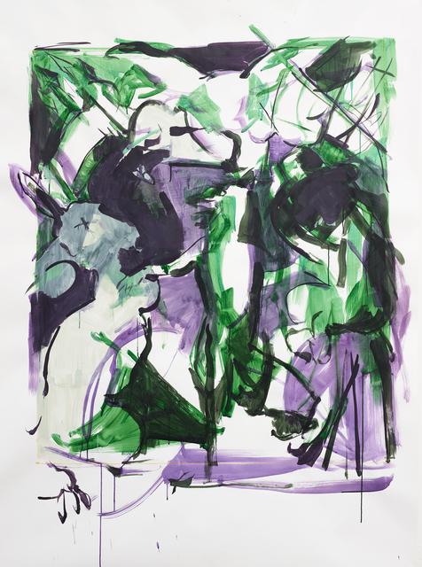 , 'Untitled (Als Schlitzohr durch's Siegestor),' 2016, Galerie Kornfeld