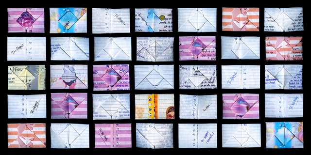 , 'Origami Love Letters,' 2013, Mizuma Art Gallery