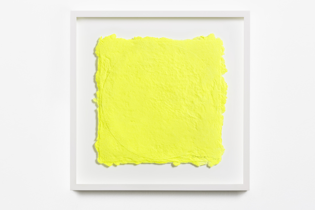 , 'Yellow on a Vinyl 1,' 2015, STPI