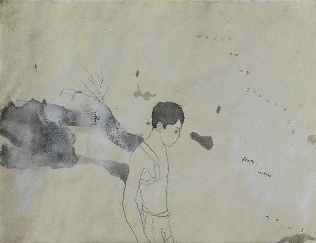 GEORG WEISE, 'WORLD ON MY SHOULDER', 2019, Galería Quetzalli