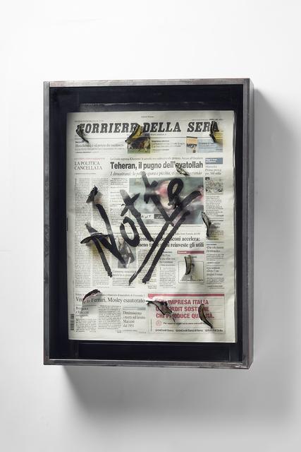 , 'Untitled (Corriere Della Sera),' 2009, Carolina Nitsch Contemporary Art