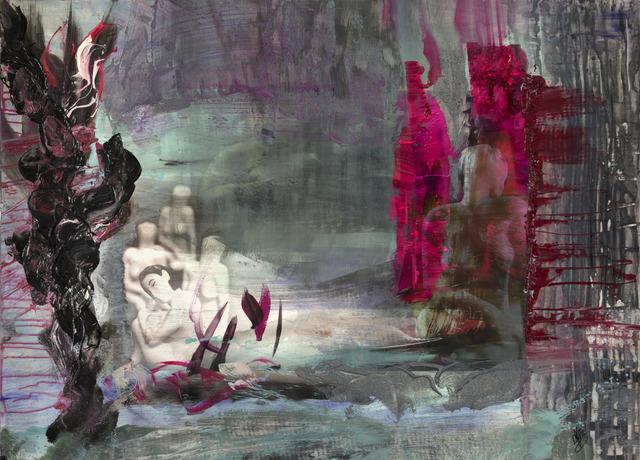 , 'Black ORCHID,' 2016, Galerie Michael Schultz