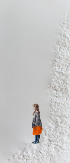 Pablo Arrazola, 'Girl in Orange Skirt', 2018, Beatriz Esguerra Art