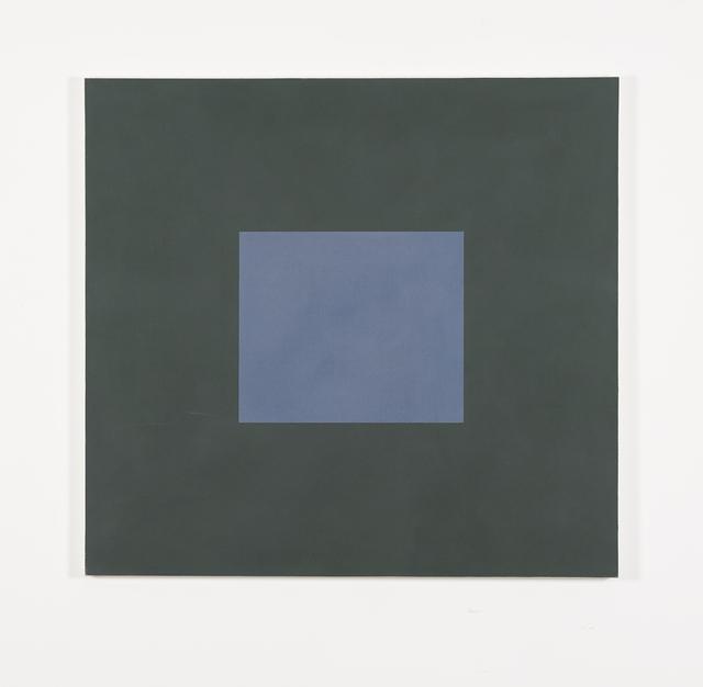 , 'Blue with Dark Green,' 1987, Galerie Greta Meert