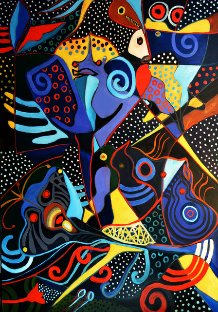 , 'Deep Sea Life,' 2017, Art Acacia
