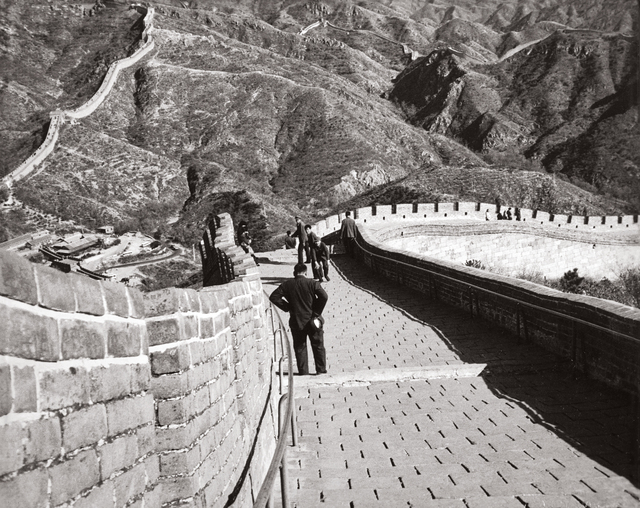 Andy Warhol, 'The Great Wall of China', 1982, Photography, Gelatin silver print, Phillips